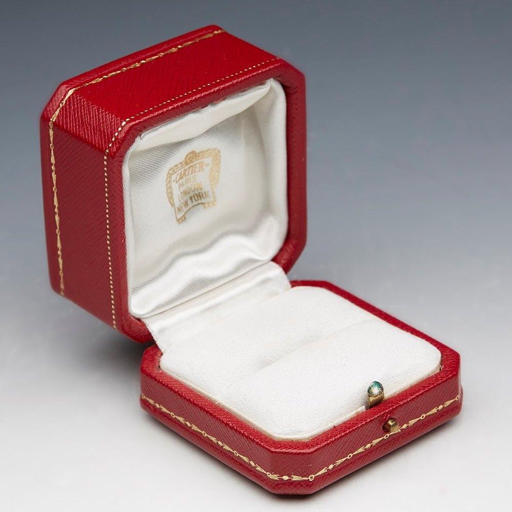 Cartier Colombian Emerald & Diamond Ring