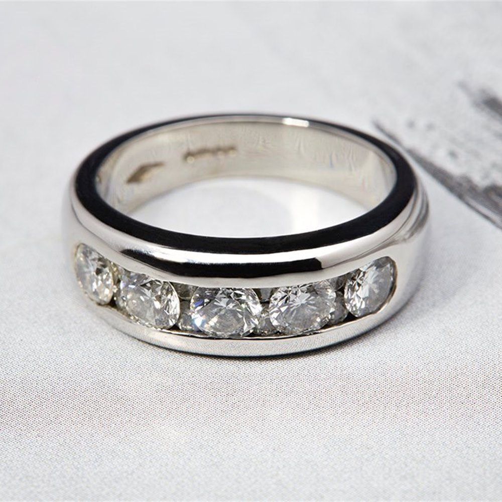Platinum Diamond 1.50cts VS G Ring