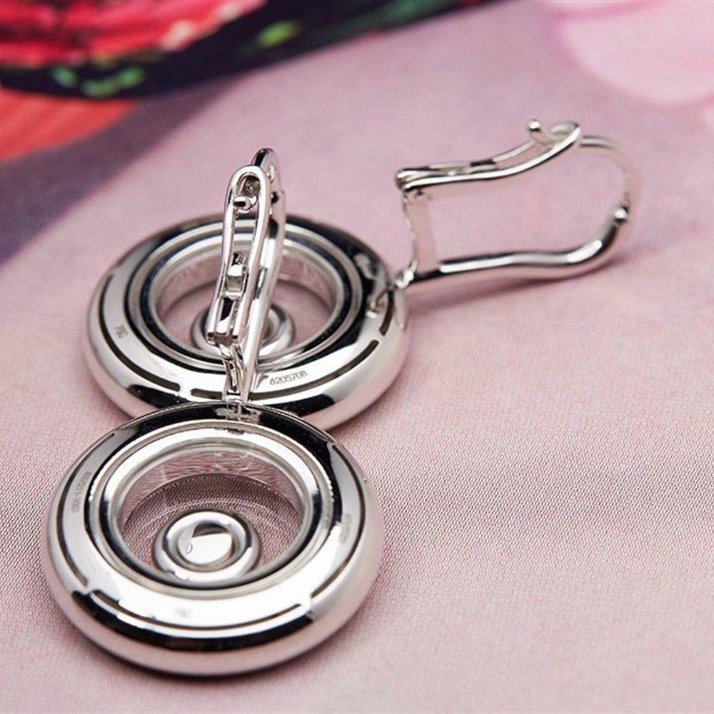 Chopard Happy Diamonds 18K White Gold Earrings