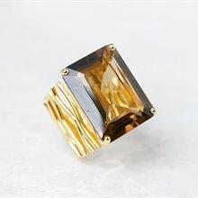 Carla Amorim 18k Yellow Gold Smoky Quartz Ring