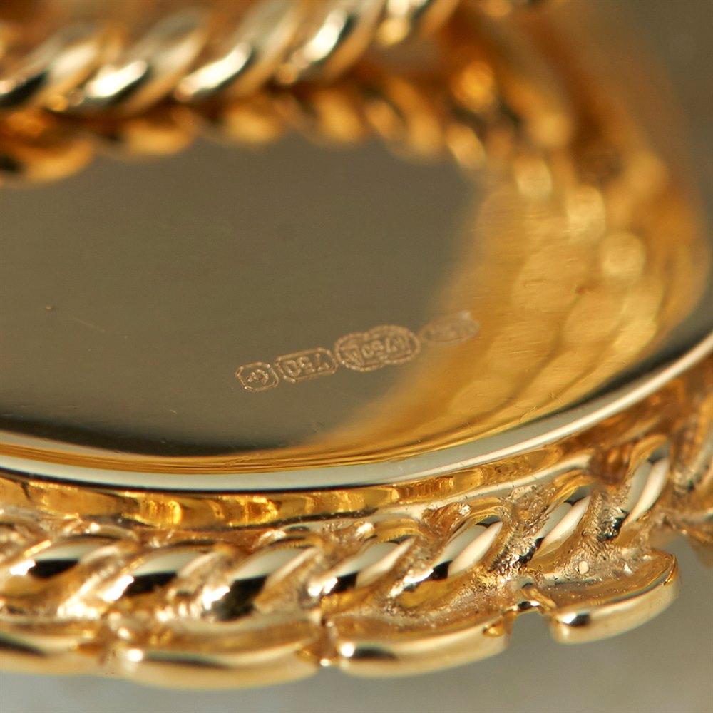 Carla Amorim 18k Yellow Gold Cabochon Aquamarine Ring